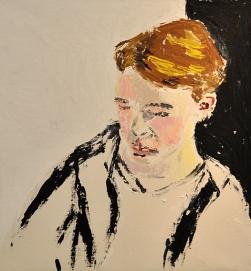 Christina Frendin, Pojke i svart tröja, o.p.d.
