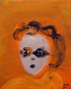 Sidblick, 2015, målning