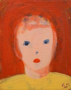 Porträtt, målning