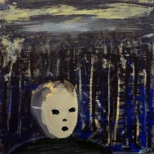 Skogstrakt, 2009, målning