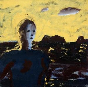 Flicka från Lofoten, målning