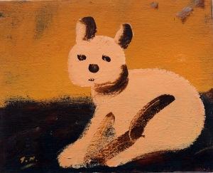 Gösta, målning